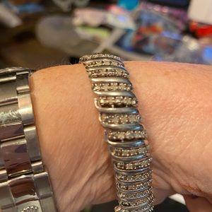 Zales 2ct diamond bracelet